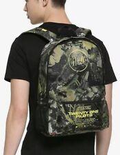 Twenty One Pilots Backpack School Bag Reflective Rucksack Notebook Backpack