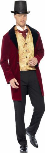 Superbe Gentilhomme Costume Pour Homme Nouveau-Messieurs Carnaval verkle