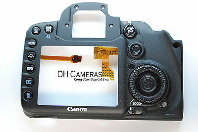 Original Bare Rear Back Cover Part Replacement For Canon EOS 7D Camera Repair