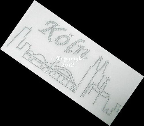 Hotfix Bügelbilder Strass Skyline Köln groß Crystal 120212