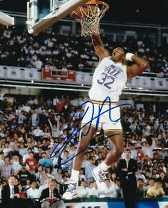 Karl Malone Autographed Signed 8x10 Photo ( Jazz ) REPRINT