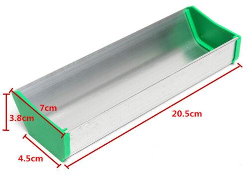 "US 8/"" Aluminum alloy Dual Edge Emulsion Scoop Coater for Screen Printing"
