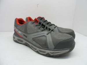 e2ff2eeffb3b AGGRESSOR Men s Low-Cut Steel Toe Steel Plate Athletic Shoes Gray ...