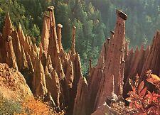 Alte Postkarte - Die Erdpyramiden am Ritten bei Bozen