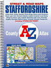 Staffordshire County Atlas by Geographers' A-Z Map Company (Spiral bound, 2010)