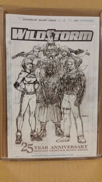 IMAGE COMICS 25TH ANNIVERSARY EXCLUSIVE WILDSTORM SIGNING EDITION LIMITED 1000
