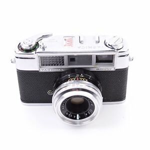 Yashica Minister II Camera with Yashinon 50mm f/2.8 Lens ...