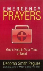 Emergency-Prayers-Paperback-by-Pegues-Deborah-Smith-Brand-New-Free-shippi