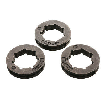 3Pcs 325-7 7 Zahn Ring Kettenrad Kettenring Ritzel for Stihl Husqvarna Chainsaw