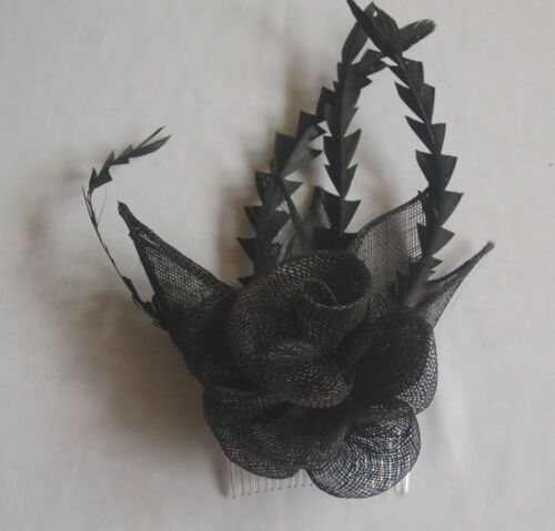 Brautgesteck Headpiece Fascinator Haarschmuck Hochzeitsgesteck mit Haarkamm