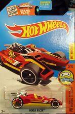 Hot Wheels 2016 Honda Racer Red HW Digital Curcuit 5/10 1:64 Diecast
