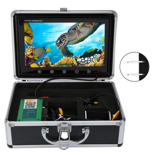 "10.1/"" LCD 1000TVL Wireless WiFi Underwater Video Camera Recoder 15//20//30//50m"