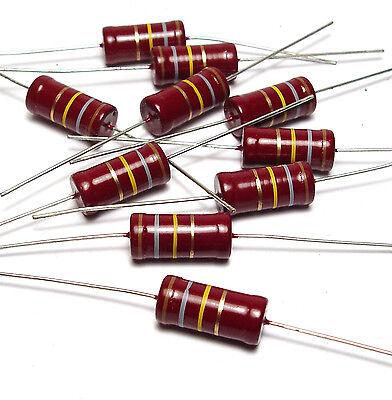 10x Widerstand Beyschlag 180 Kohm, 2w, F. Röhrenverstärker / Tube Amplifier, Nos