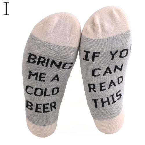 "Unisex Wein Lustige Sock/""If You can read This/""  Herren//Damen-Baumwollsocken Q2A6"