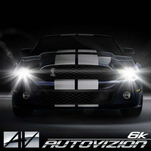 AUTOVIZION LED HID Headlight kit H11 White for 2010-2011 Honda Accord Crosstour