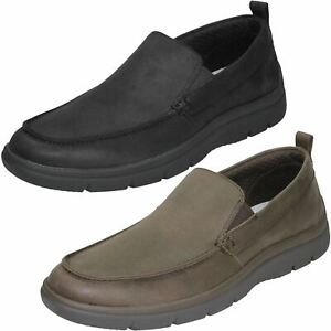 Aktiv Mens Cloudsteppers By Clarks Tunsil Way Slip On Shoes