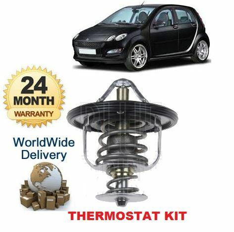 FOR SMART FORFOUR FOR FOUR 1.5 TURBO BRABUS 2005--/> NEW THERMOSTAT KIT