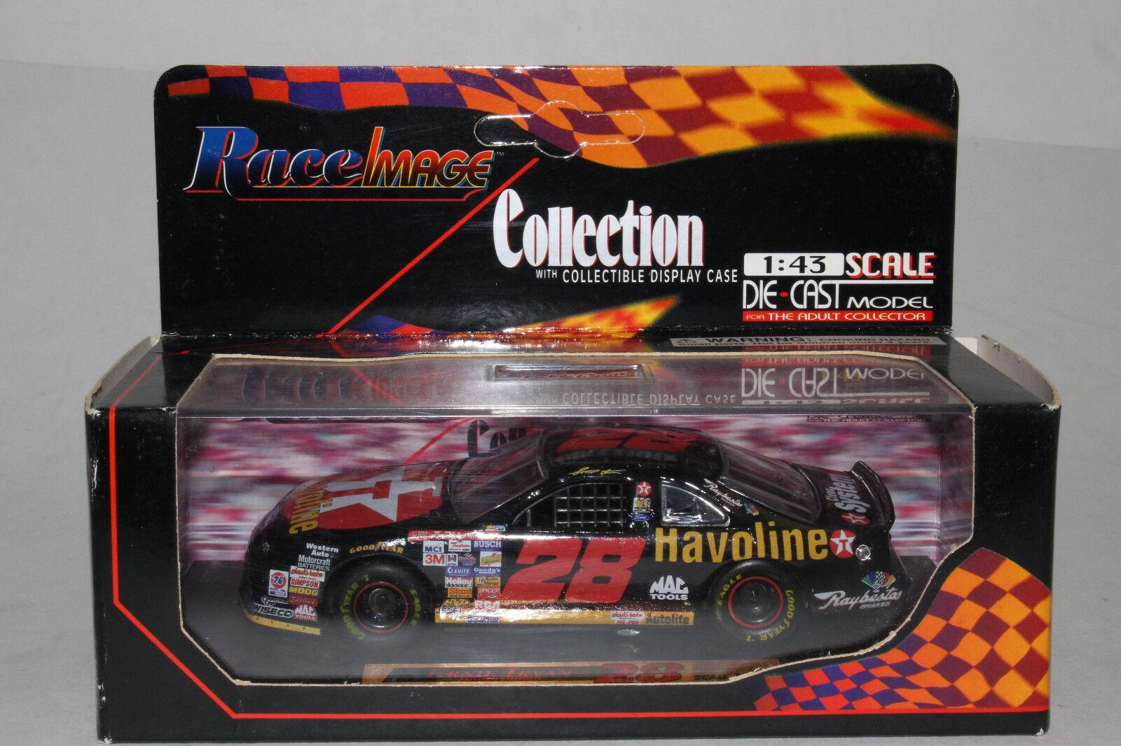 RACE IMAGE DIECAST NASCAR ERNIE ERNIE ERNIE IRVAN TEXACO HAVOLINE FORD, 1 43, NEW IN BOX 38d560