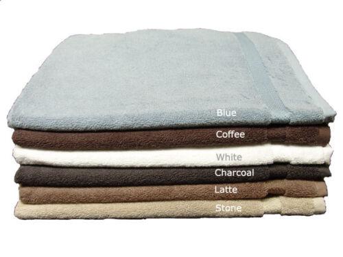 Egyptian Cotton Bath Mat Floor Towel Multi-Colours 60x75cm 550GSM Clearance Deal