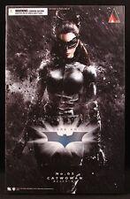 """2013 DC SQUARE ENIX PLAY ARTS BATMAN DARK KNIGHT RISES 03 CATWOMAN 9"""" FIGURE MIB"""