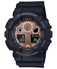 Casio G-Shock Men's Ana-Digital World Time Alarm 55mm Watch GA-100MMC-1A