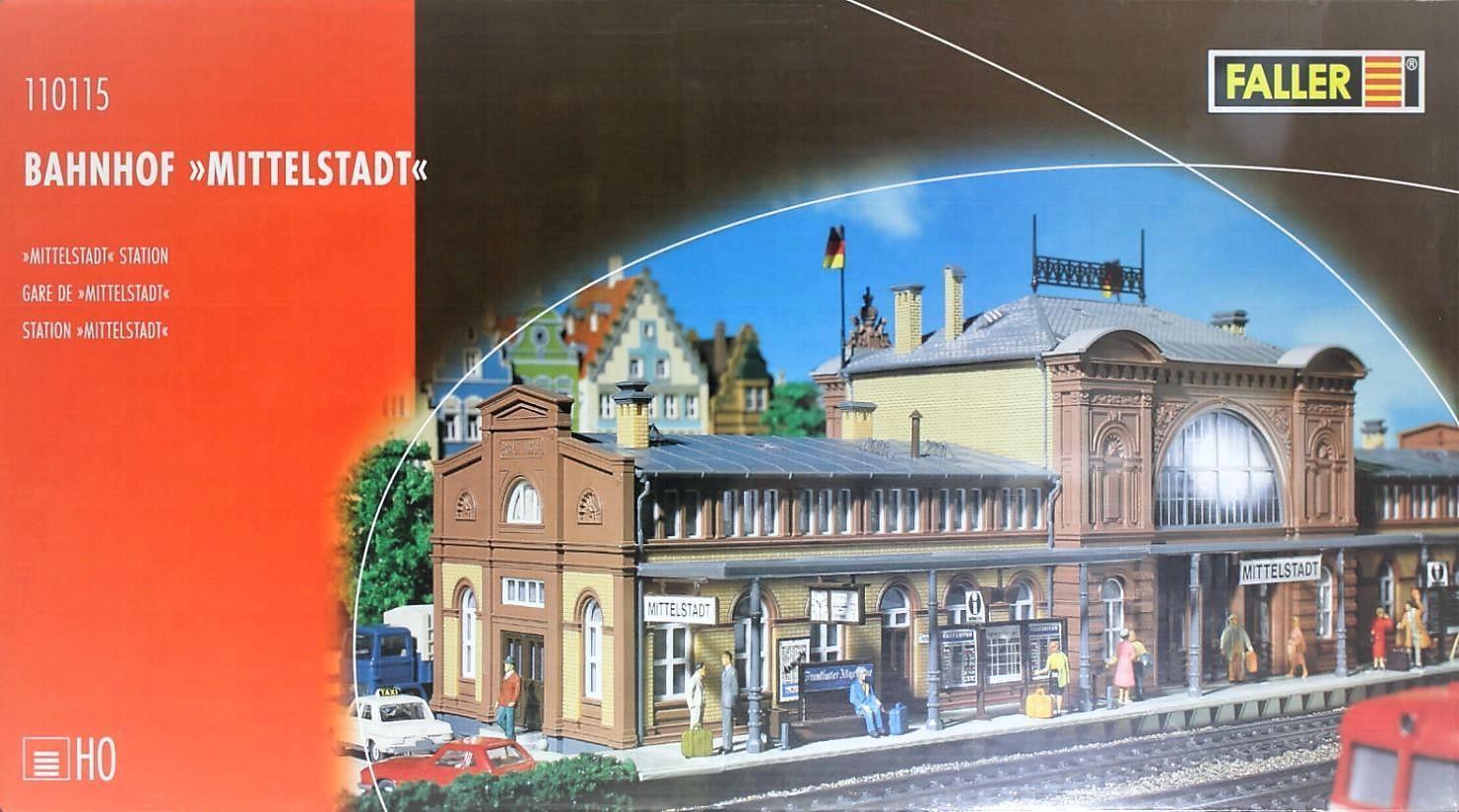 Faller 110115 H0 - Bahnhof   Mittelstadt   NEU & OvP  | Billig