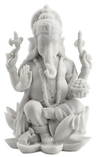 Rare Ganesh (Ganesha) Hindu Elephant God of Success Statue, 7 1/4-inch