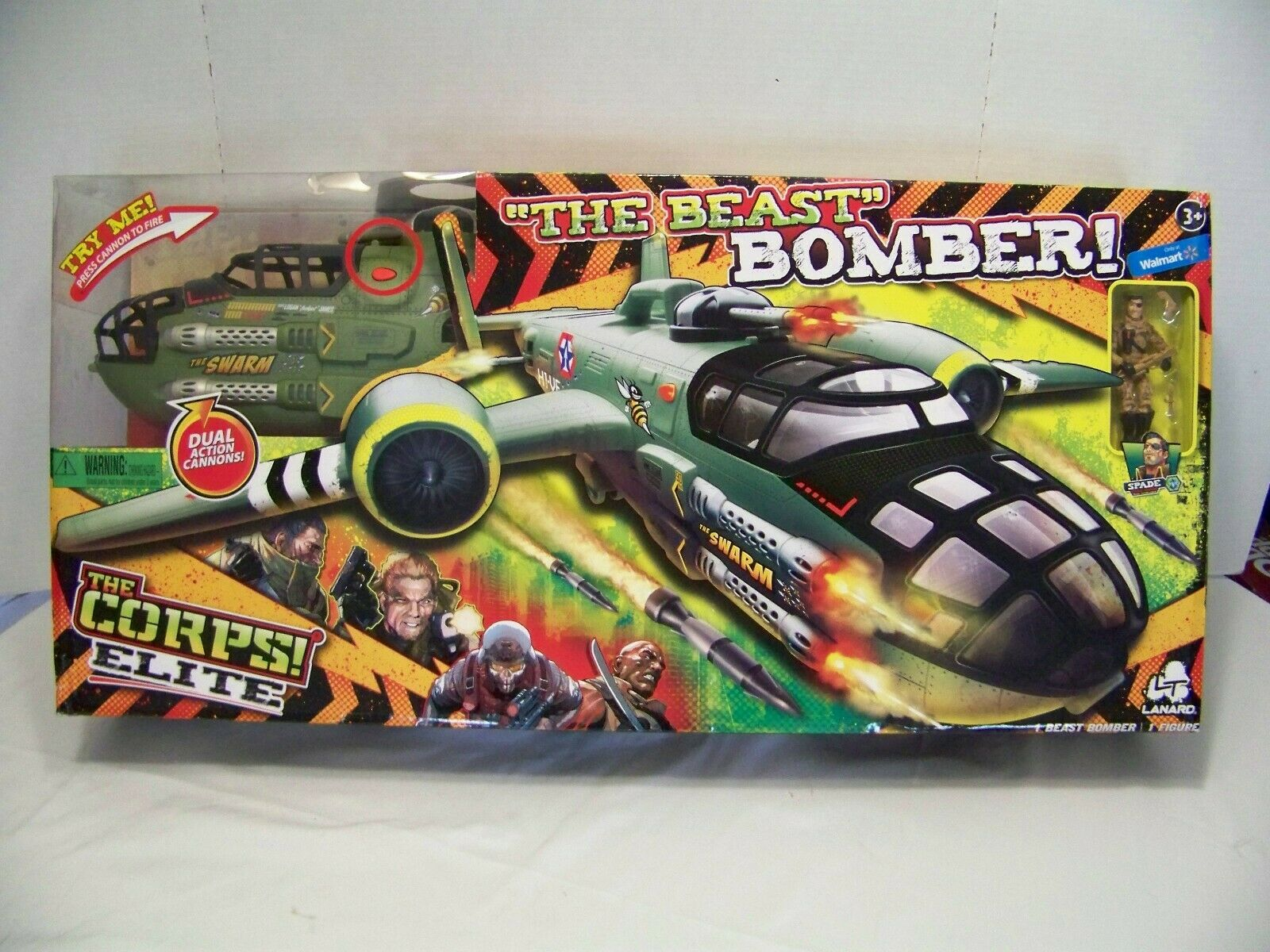 NEW LANARD THE CORPS ELITE THE BEAST BOMBER THE SWARM verde VERSION  ELECTRONIC