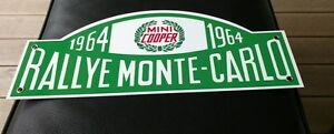 Mini-Cooper-European-Rally-Monte-Carlo-Rallye-sign
