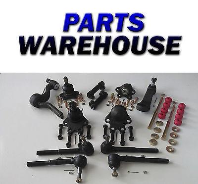14 Pcs Steering Chevy Gmc K1500 K2500 Ball Joint Tie Rod Pitman 4Wd 88-93