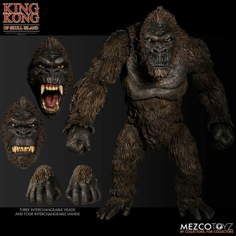 In STOCK Mezco Ultimate King Kong of Skull Island 18  Action Figure