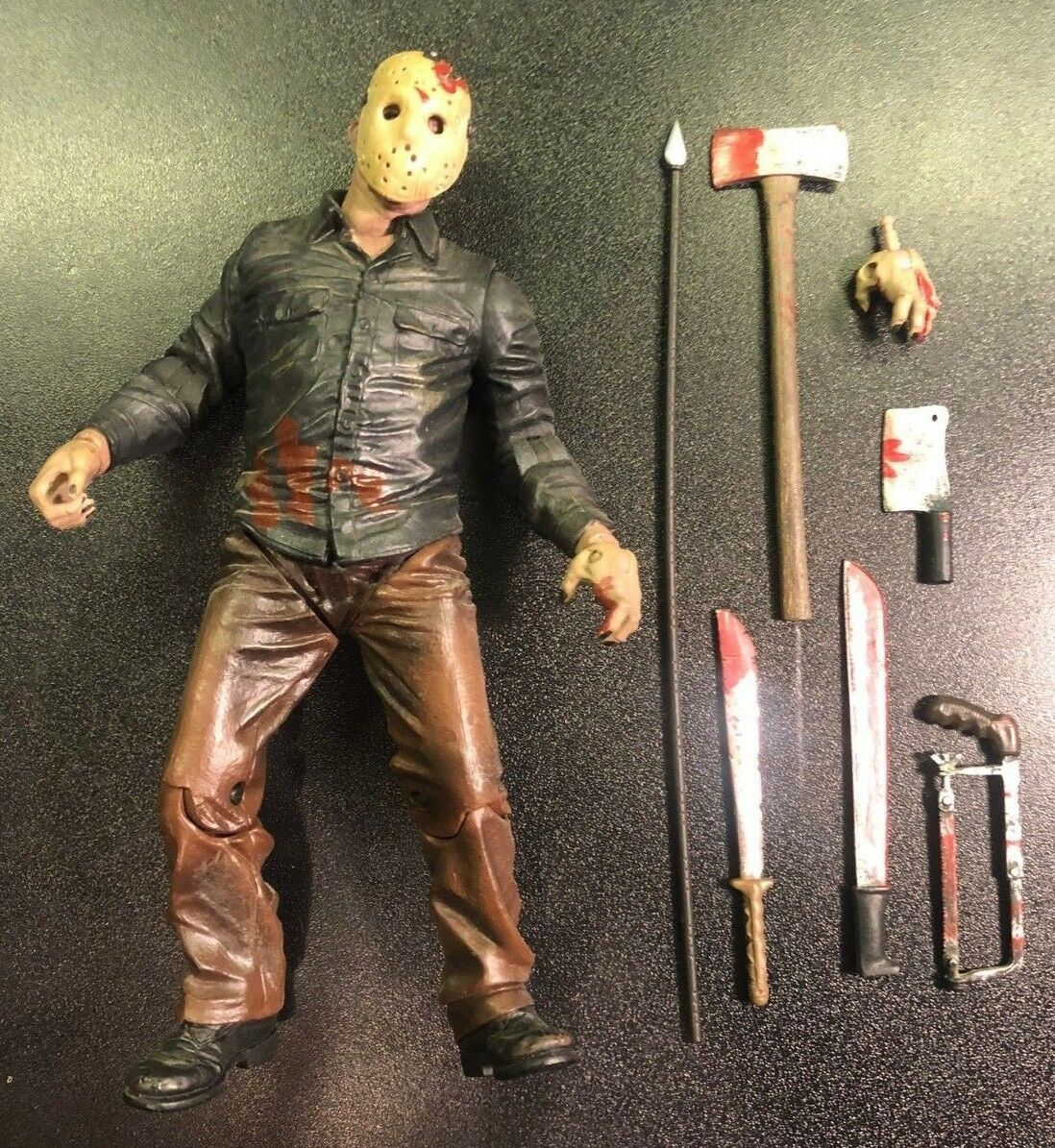 Mezco Friday the 13th Final Chapter Cinema of Fear JASON VOORHEES Figure