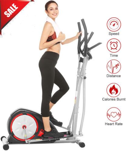 Electric Magnetic Elliptical Exercise Home Cardio Training Machine USA *
