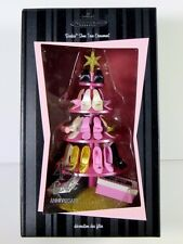 NIB BARBIE 2004 HALLMARK ORNAMENT 45TH ANNIVERSARY SHOE TREE