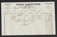 """SAINT-CLAUDE (39) JOUETS en bois / BILBOQUET TOUPIE """"Claude LAMBERGEON"""" en 1868"""