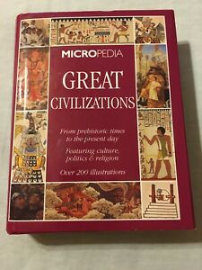 Micropedia Great Civilizations Appears Perfect Except Letter Written Inside
