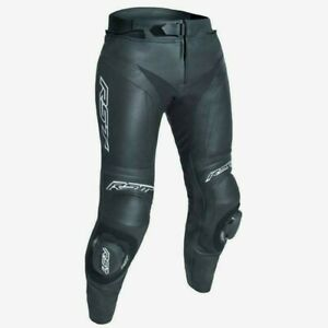 RST-Womens-Blade-2-Leather-Black-White-Motorcycle-Trousers-New-RRP-209-99