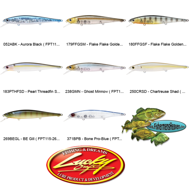 LUCKY CRAFT LC 4.5 DRS ~Deep Rattle Sound~ 183 Pearl Threadfin Shad