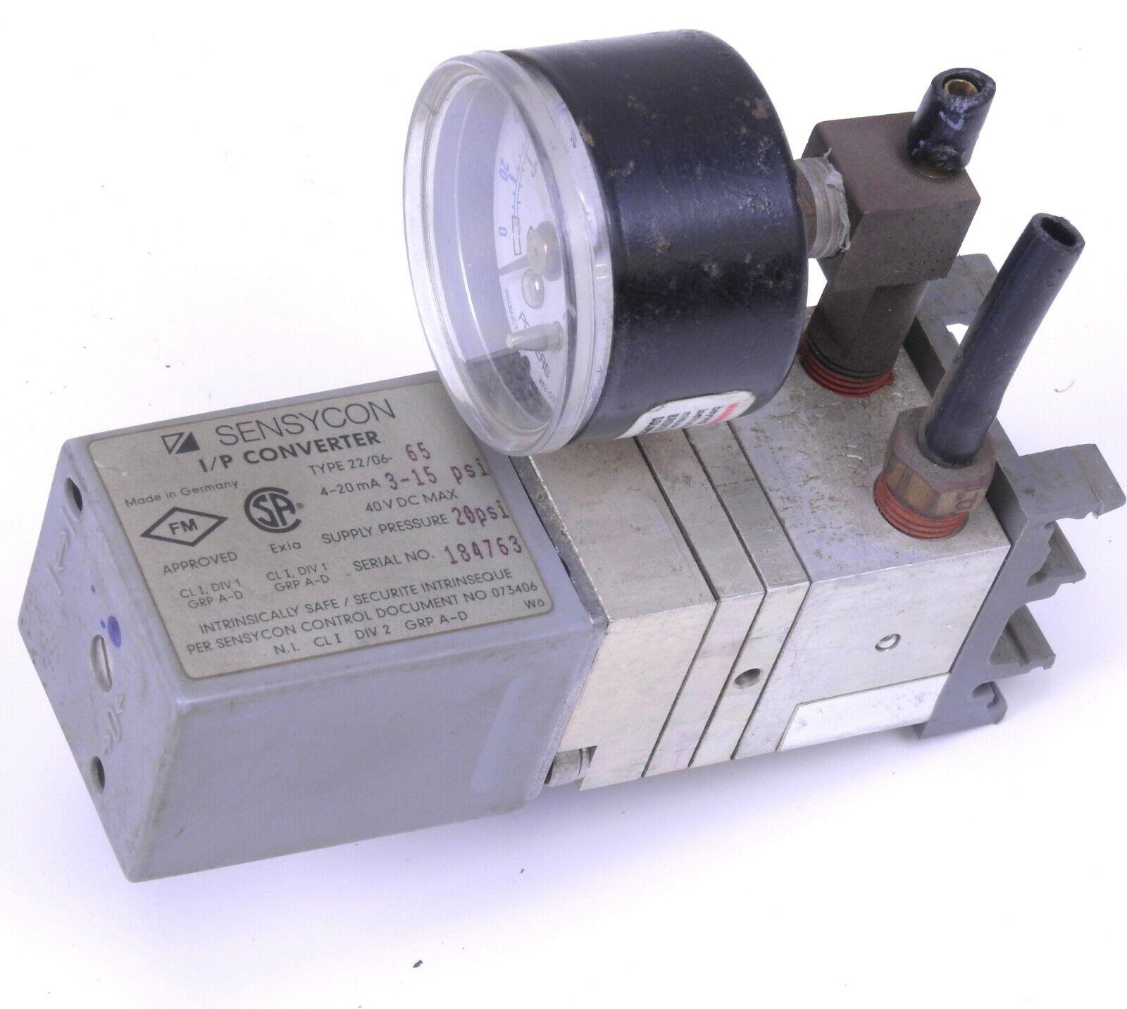 ABB Sensycon I/P Converter