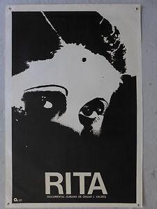 Affiche-CUBA-Rita-documental-cubano-de-Oscar-L-Valdes-70-039-S