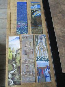 Marques pages collectors -Thème Ceret,musée,Vincent Bioules