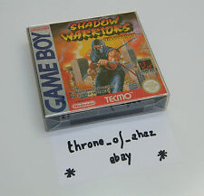 """Shadow Warriors Ninja Gaiden"" Jeu Game Boy (complet) / FAH ***Excellent état***"