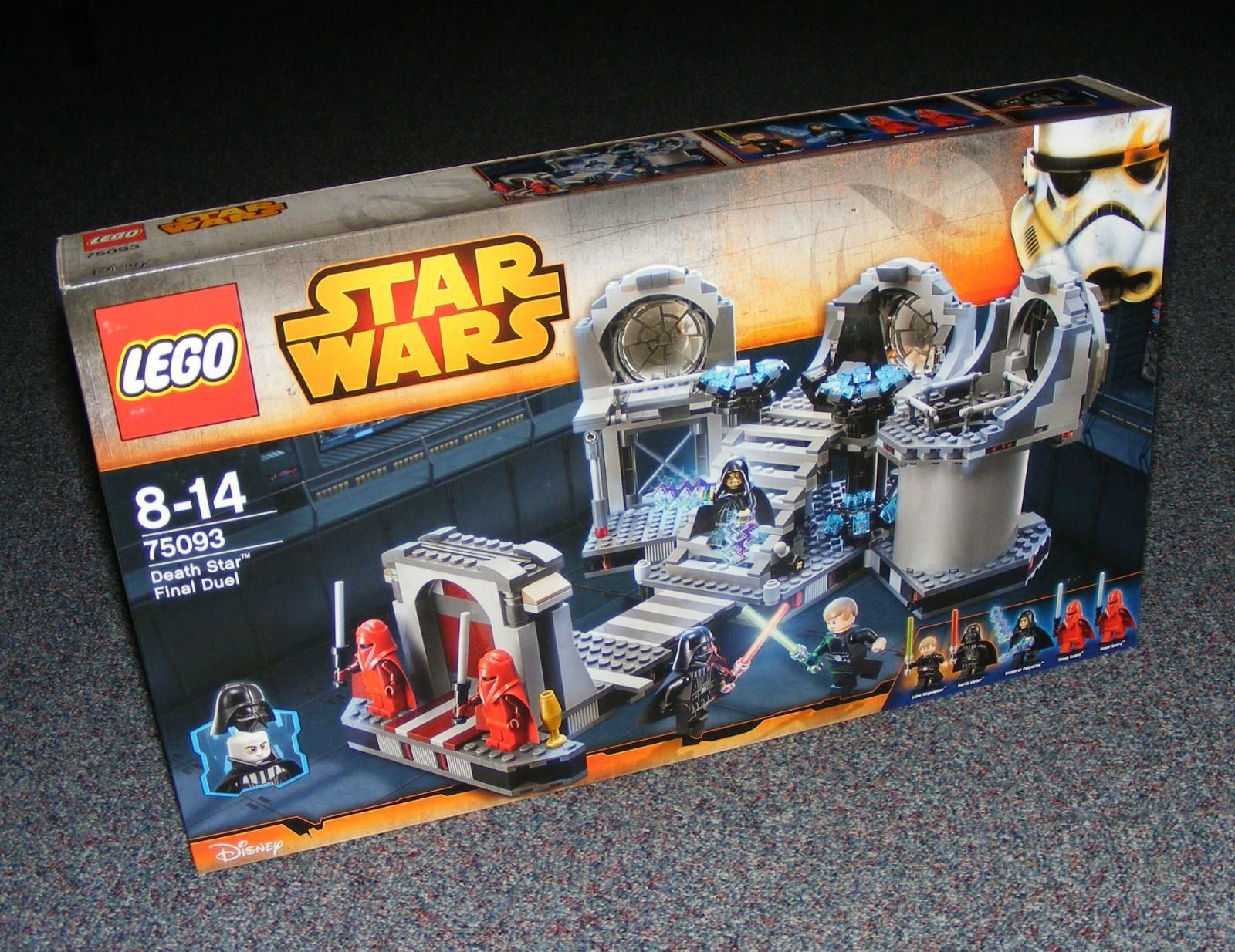 Estrella guerras LEGO  75093 MORTE NERA DUELLO Finale SIGILLATO Nuovo di zecca con scatola  prima i clienti