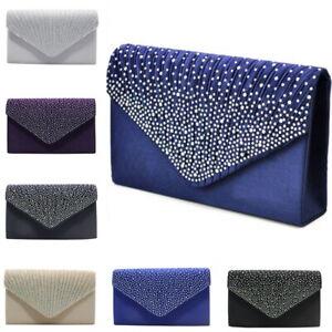 Women-Evening-Diamante-Satin-Clutch-Bag-Party-Prom-Envelope-Shoulder-Handbag