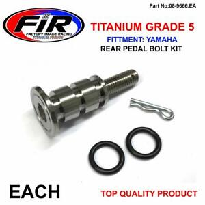 TITANIUM-M8x49mm-REAR-BRAKE-PEDAL-BOLT-FITS-YAMAHA-YZ125-YZ250-05-19-YZF-WRF-450