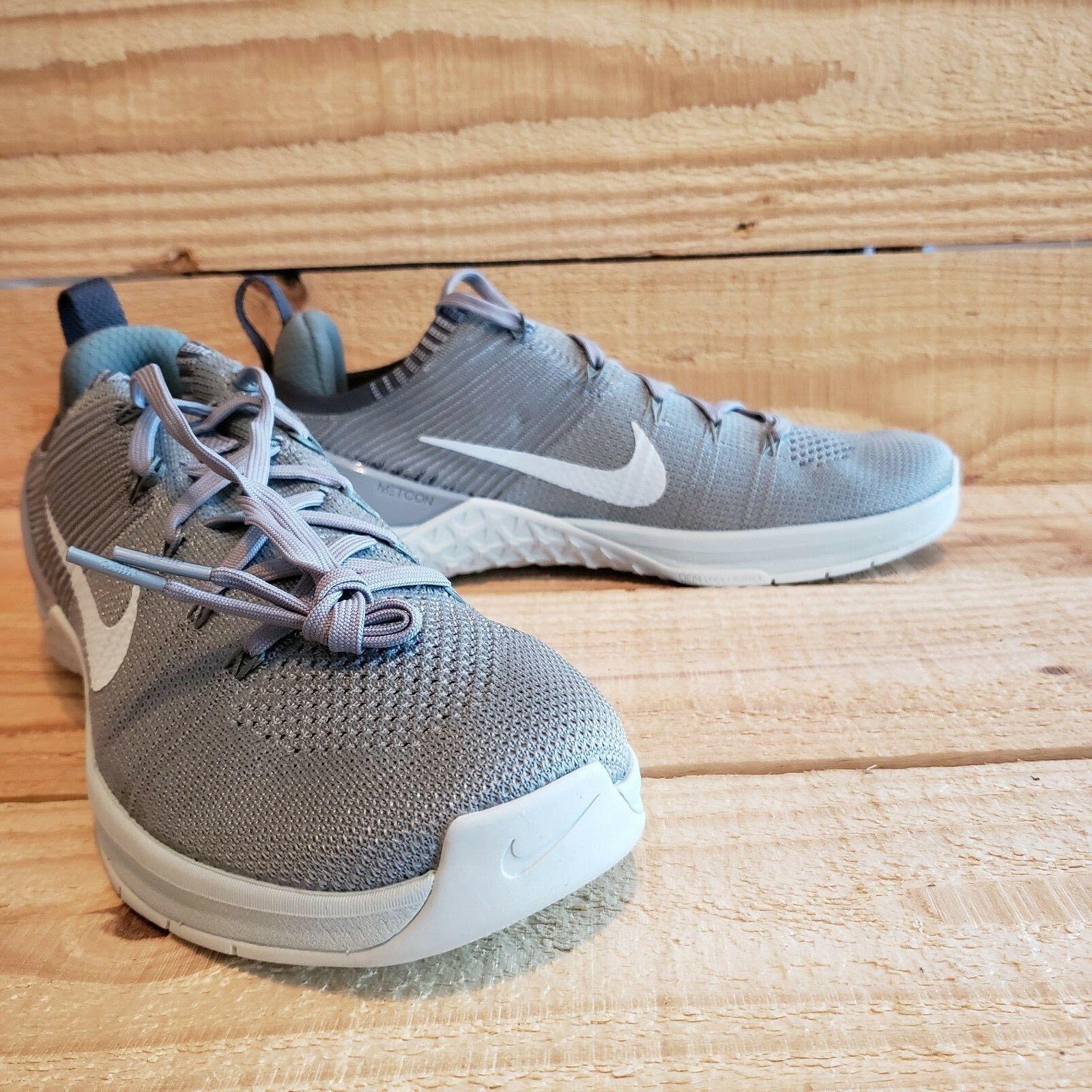 Nike Metcon DSX  924595-004 Flyknit 2 Cross Training Womens shoes Size Grey