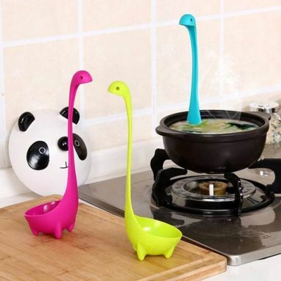 Dinosaur Soup Spoons Loch Ladle Monster Nessie Spoon Kitchen Supplies EU