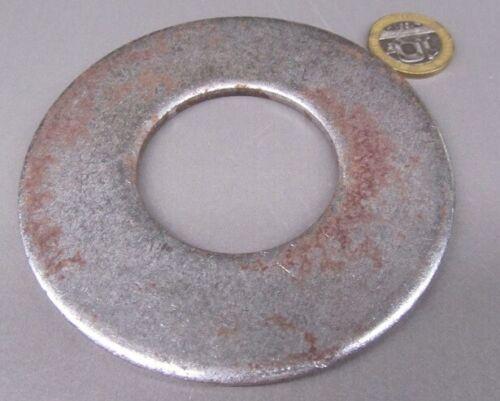 "3.75/"" OD x 1.75/"" ID  x .183/"" Thick Zinc Steel Round Washer 5 Pcs"