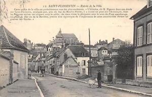 CPA-89-SAINT-FLORENTIN-ENTREE-DE-LA-VILLE