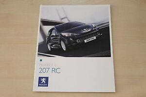 Zeitschriften Peugeot 207 Rc Prospekt 04/2007 Gelernt 171904 Automobilia